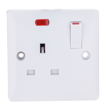 High security 13a fuse plug usb wall socket for any architectural style