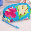 Custom makeup travel promotional toiletry bag fashion flower Cosmetic Bags