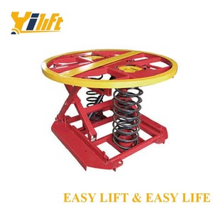 hydraulic pallet spring level loader lift table