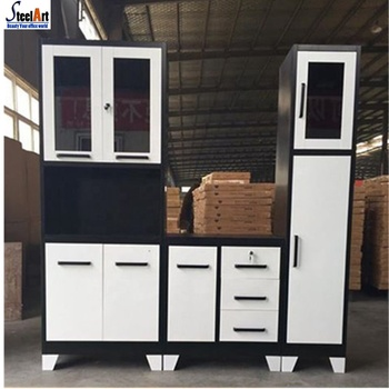 Low Price Metal Pantry Cupboard Kitchen Cabinet For South Africa