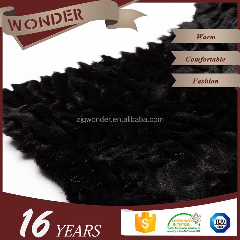 New Long Hair Pure Fake Faux Fur Pile Plush Costume Fabric