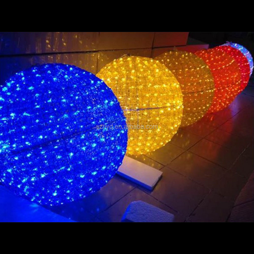 Outdoor christmas led light ball outdoor christmas lighted - Large bulb exterior christmas lights ...