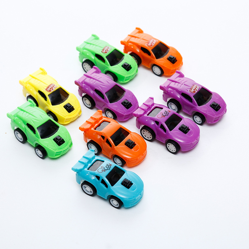 53 Styles Pull Back Printed Cars And Car Party Favors for Kids,Birthday Party Supplies, Mini Toy Car for Toddlers Boys Girls