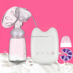 baby care milk feeding single portable silicone bpa free electric breast pump