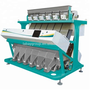 CCD rice color sorter/rice color sorter machine/grain sorting machine for grain processing and rice mill