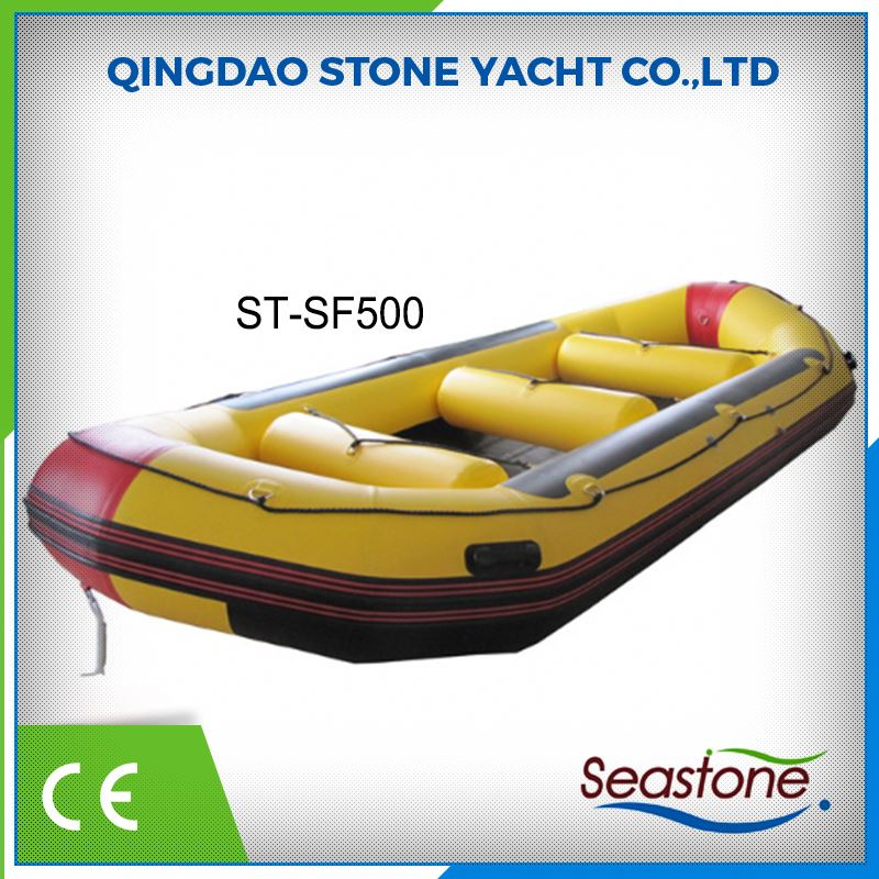 CE Approved Low Price Pvc Inflatable Rubber Life Raft White Water Boat