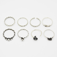 wholesale 925 sterling silver antique ring settings mountings without stones