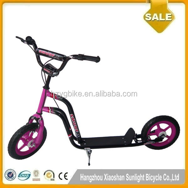 12 Inch Fashionable Pump Custom Kick Scooter Child Scooter