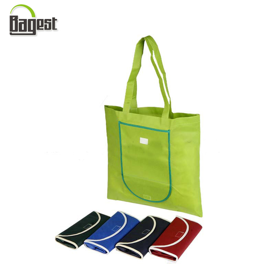Competitive Price Grocery Foldable Non Woven Tote Shopping Bag