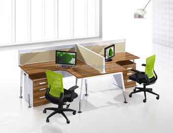 Cf persoon melamine workstation meubels kantoor werknemer bureau