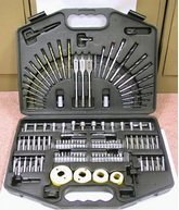 125pcs Power Drill & Bit Set
