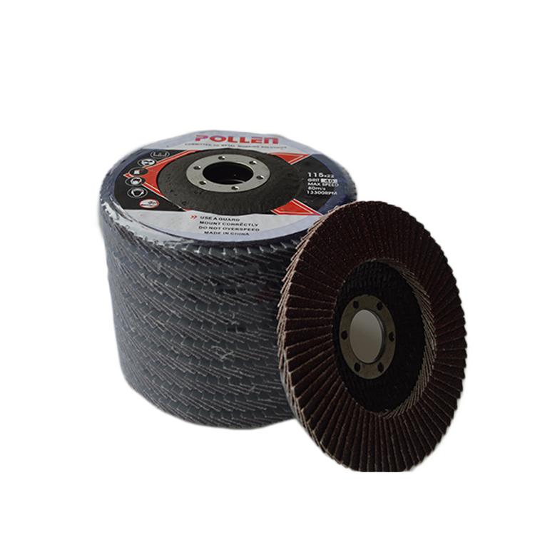 Gratis Monster Flap disc schurende schuren fiber staal polijsten wiel