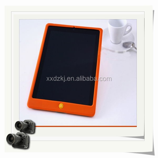 Hot seller Hybrid PC and silicon case for iPad 5 with holder