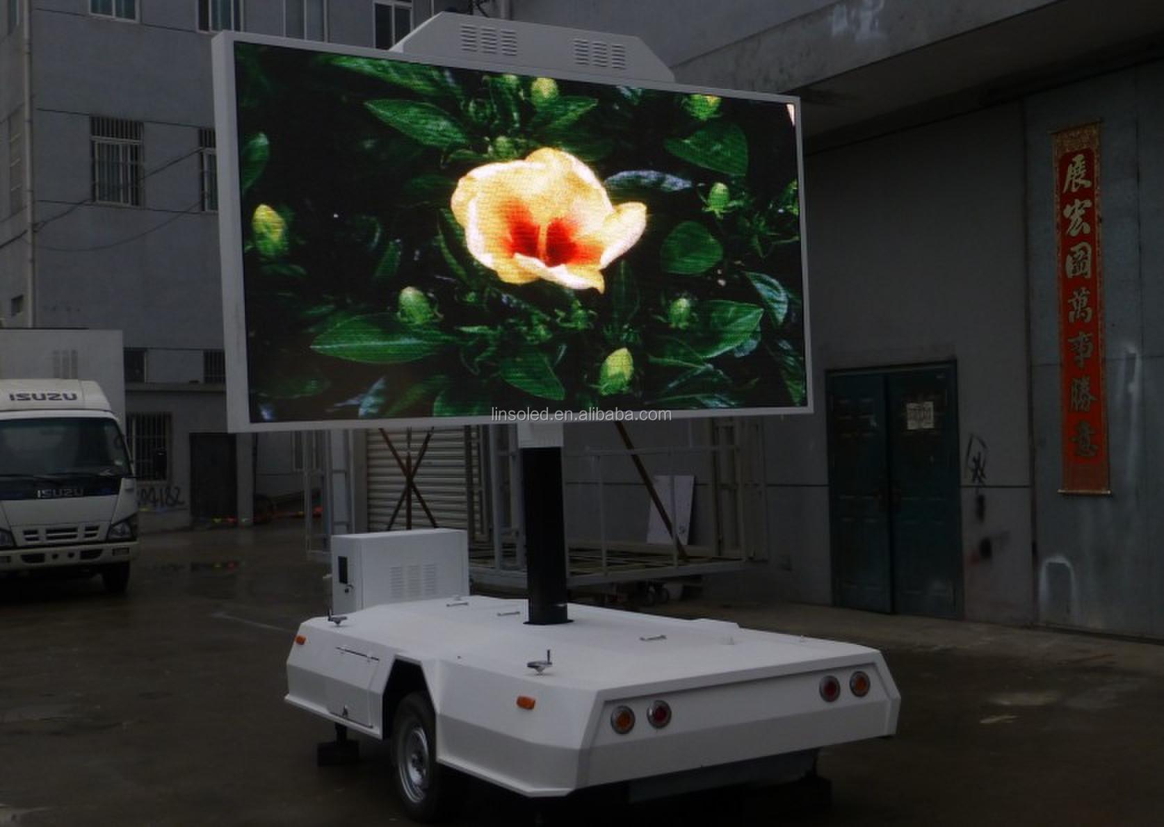 New Mini Mobile Advertising Led Display Trailer/led Video ...