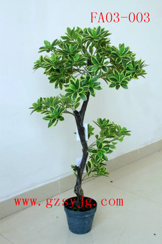 Artificial Green Winter Creeper/ Bonsai Potted Artificial Plant /fake  Decorative Indoor Plants For Sale