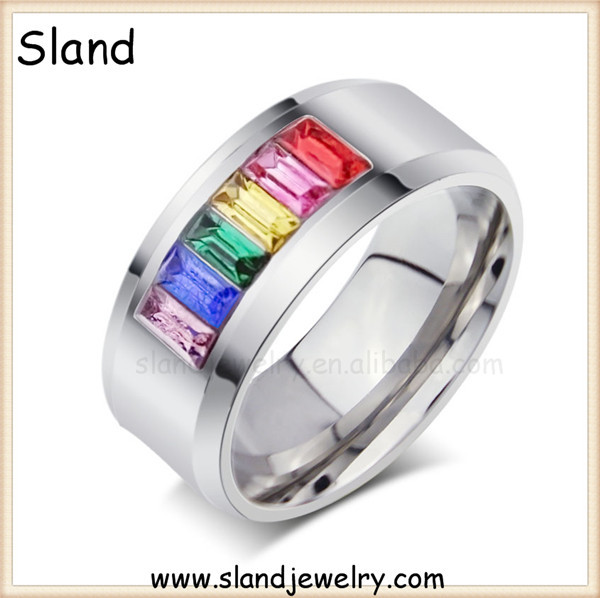 gay jewelry manufacturers wholesale gay men rings gay couple ring gay  couple engagement ring with Rainbow
