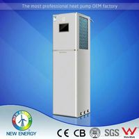 Mini solar and inverter heat pump water heater air source