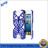 Plating pc Butterfly Case For iPhone 5