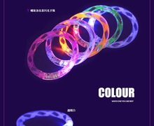 Bulk Cheap Glow in Dark Bling Bling Flashing Bracelets And Bangles LED Wristband For Party Celebration Activities