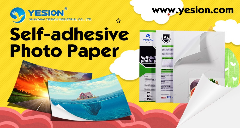 Hands A3 135gsm Self Adhesive Gloss Photo Paper 20, 40 Sheets