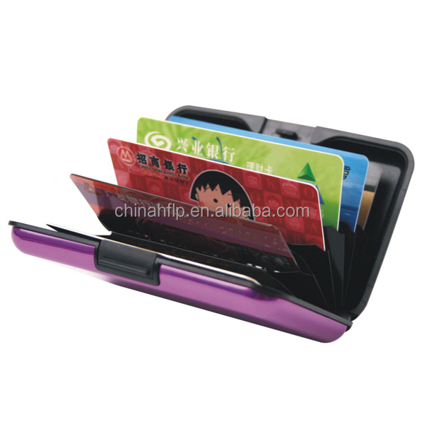 Aluminum Business ID Card Holder