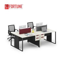Minimalism design japanese office furniture good quality components staff office table and chair set
