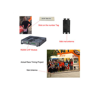 RFID UHF Reader Serial Port Mat Chip Timing Systems For Sale