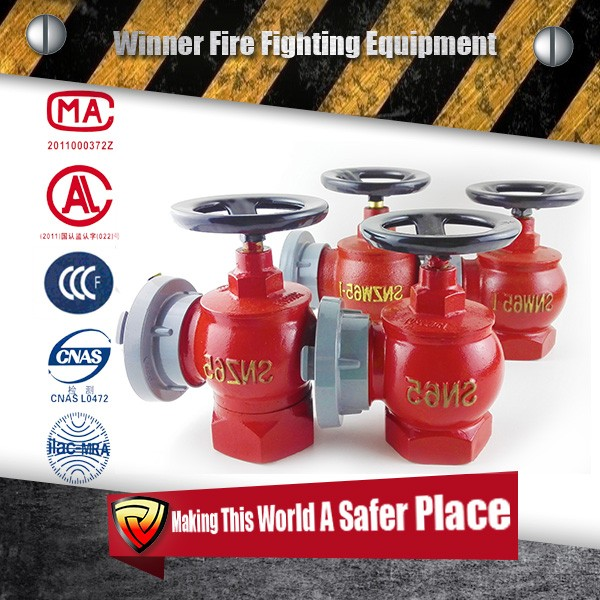 Winnerfire Gate Valves 2.5'' Landing Valves
