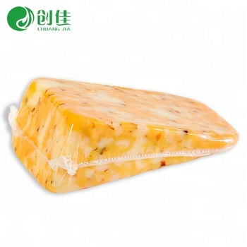 Eco-friendly PA EVOH PE food vacuum barrier heat seal shrink  wrap bag for cheese meat poultry