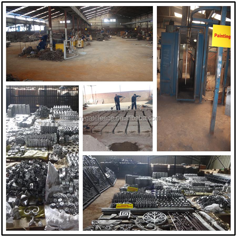 2016 Wholesale Aluminum Fence Factory Price Sand Casting Aluminum ...