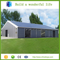 High quality steel structure metal shed storage building for sale