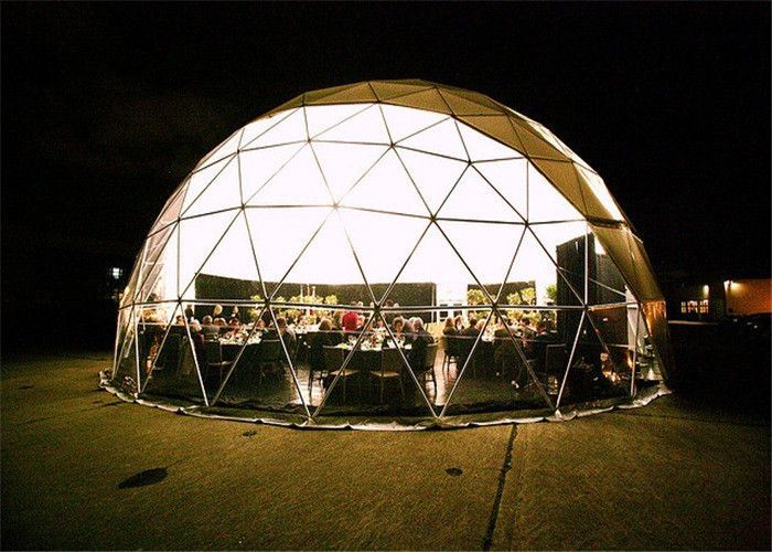 OEM ODM Offers Firm And Durable Geodesic Dome House Circular Tent Semicircle Tent