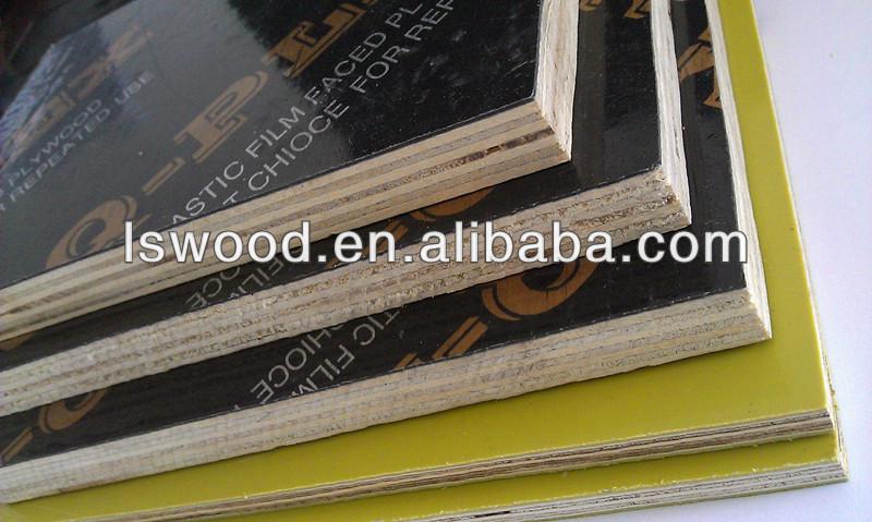 1220x2440mm 18mm de espesor paneles de encofrado de madera - Madera contrachapada precio ...