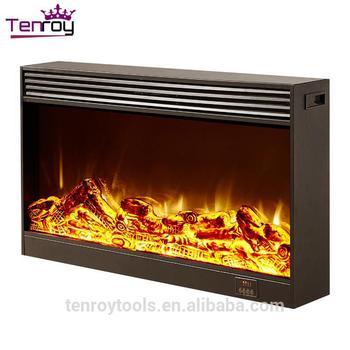 Indoor Stainless Steel Fireplace Insert Wood Burning Steel Outdoor