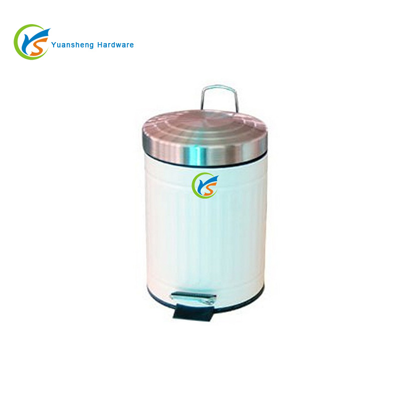Kitchen or Bathroom Rubbish container 10L Foot Pedal Waste Bin
