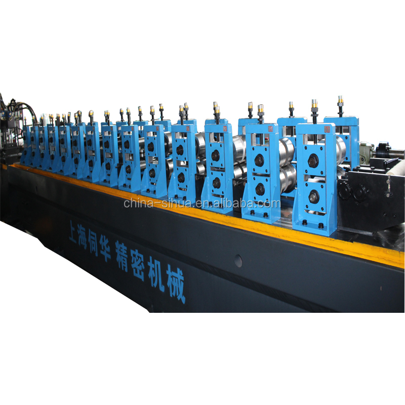 Direct factory rolling machine steel metal c bar purlin machine hot automatic wall angle cold roll forming machine