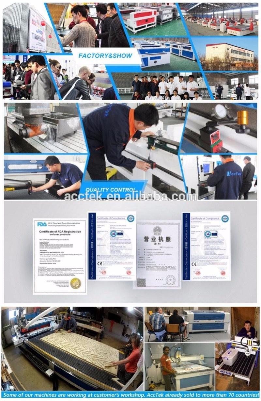1212 Acctek High Speed 1212 Vacuum Table Ballscrew CNC Router Woodworking