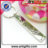 Wholesale cheap metal black light key chain