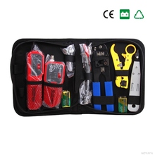 Tracer NF-1203 check-ray none noise device length tester Wire Tracker includ Wire tracker NF-268 Punch Down Tool RJ45 Plug Crimp