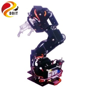 Official DOIT 6 DOF Swivel Rotating Machinery Mechanical Robot Structure Full Set Robotic Arm