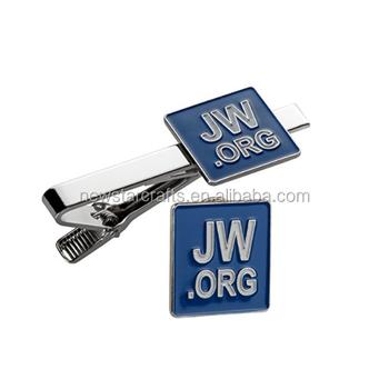 Jw org Clipe De Gravata Com Forma Personalizada E Presente De Botão De  Punho - Buy Presente Do Metal Prendedor De Gravata E Abotoaduras,Jw org