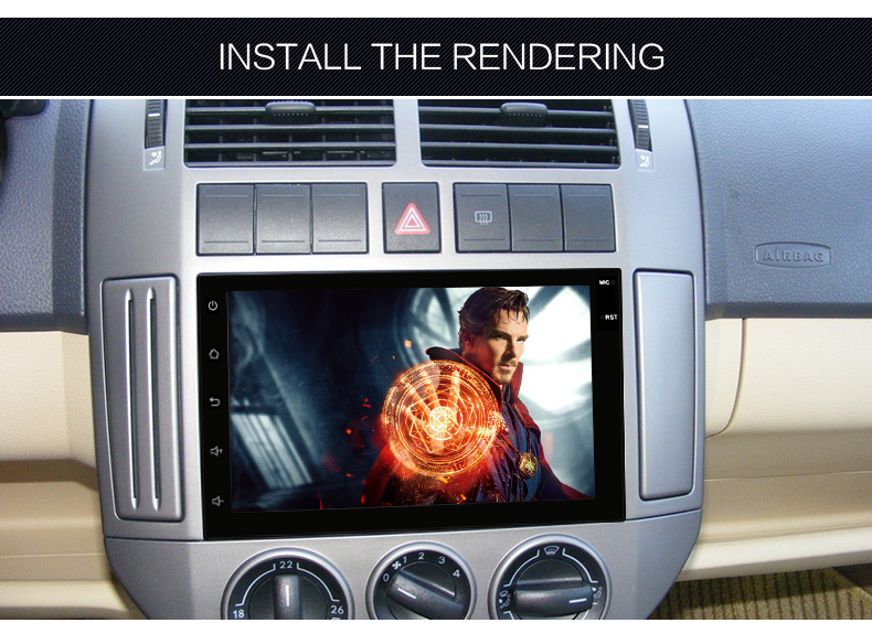 Universal Fit 2 din 7Inch android 5.1 Car DVD Player Touch Screen car stereo GPS Navigation DVD Steering Wheel Control