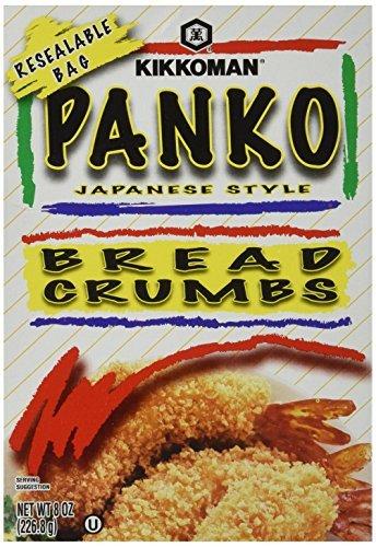 Kikkoman PANKO BREAD CRUMBS Japanese Style 8oz (2 pack) by Kikkoman