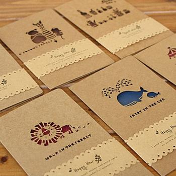 Recyclable Custom Brown Kraft Envelope Paper Gift Envelope Designer