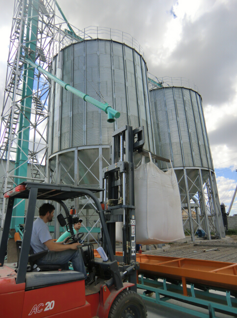 Corrugated grain silo with excellent quality