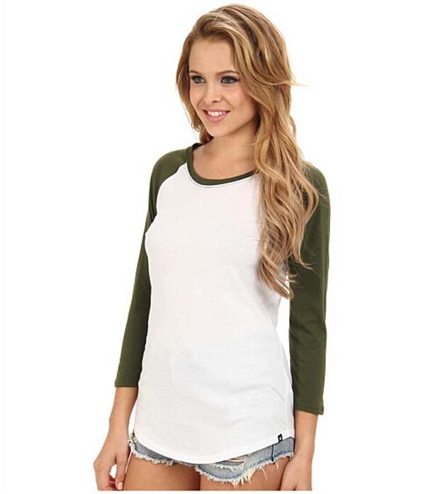 40e655a815f Wholesale Plain Raglan Baseball T Shirt Women - Buy Plain Raglan ...