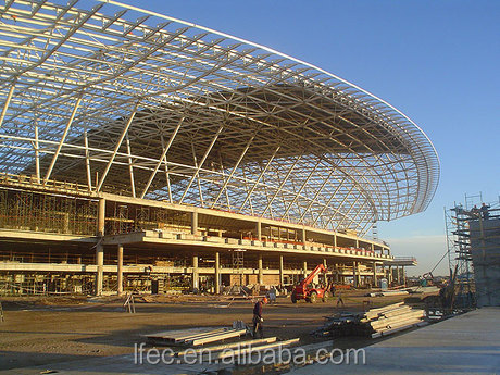 prefab steel structure airport station