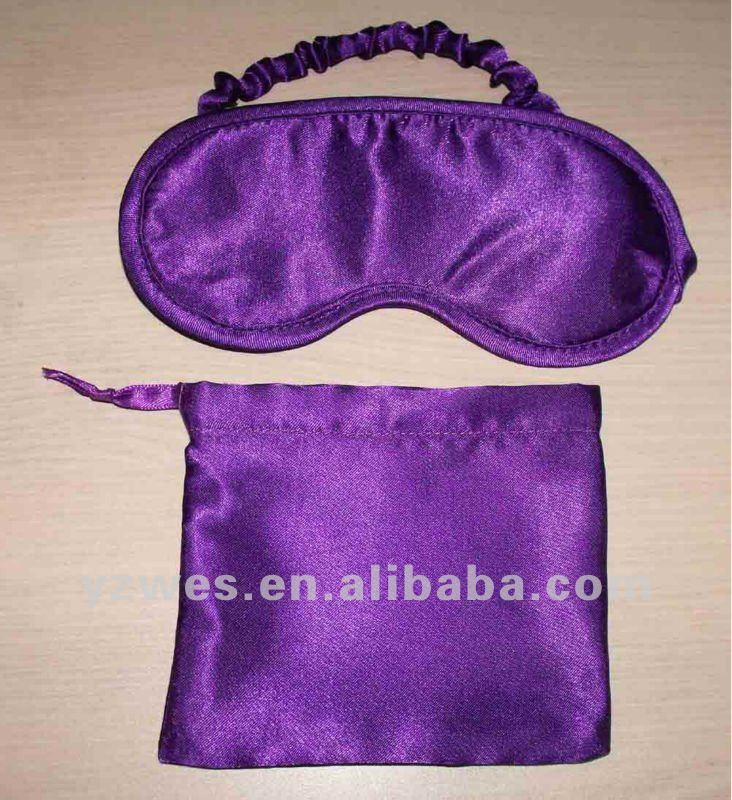 satin well comfortable eye mask protect eye