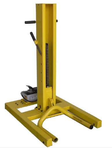 Single Hydraulic Automotive Lifts : Ton mobile hoist single post hydraulic car lift buy