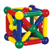 Mag wisdom Magnetic toys Rods and Balls Building Blocks educational games